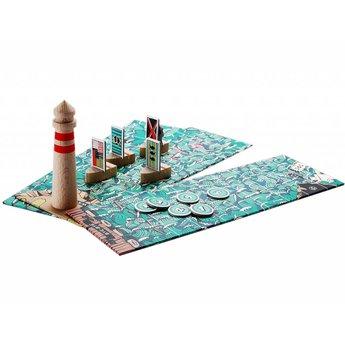 Marbushka fairtrade spellen The lighthouse - Het vuurtorenspel