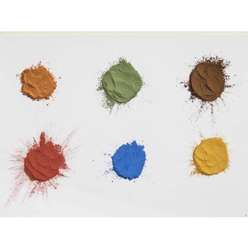 Natural Earth Paint natuurlijke kinderverf en kunstverf Kinderverf Natural Earth Paint Kit Discovery voor een liter natuurlijke verf