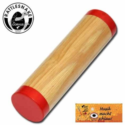 Rattlesnake muziekinstrumenten voor kinderen Safari shaker met warm zacht geluid