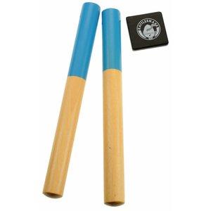 Rattlesnake muziekinstrumenten voor kinderen Rattlesnake Paar klankstokjes - claves