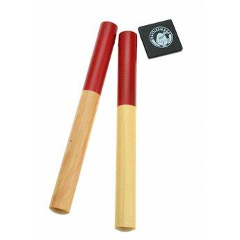 Rattlesnake muziekinstrumenten voor kinderen Paar klankstokjes - Claves