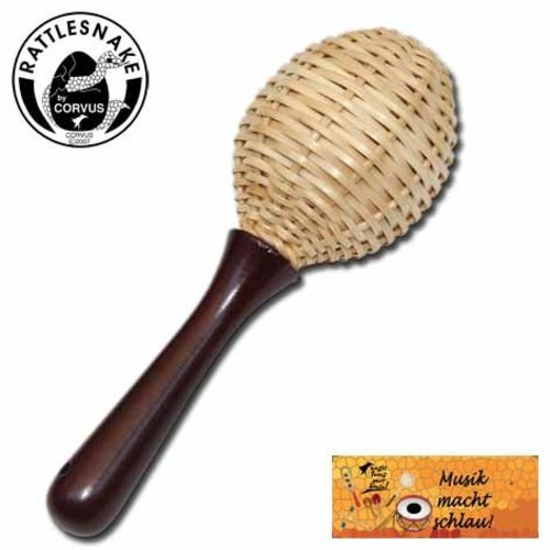 Rattlesnake muziekinstrumenten voor kinderen Shaker maracas riet