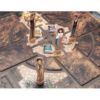 Marbushka fairtrade spellen The Mysterious Library