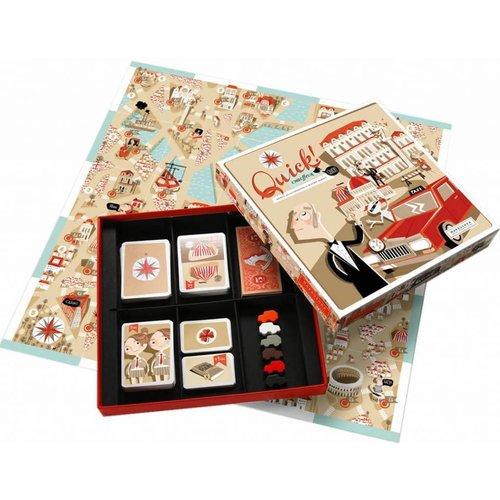 Marbushka fairtrade spellen Marbushka Quick, een vrolijk bordspel