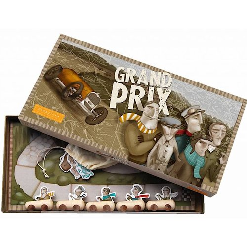 Marbushka fairtrade spellen Marbushka Grand Prix - bordspel