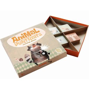 Marbushka fairtrade spellen Marbushka Memory Animal portraits