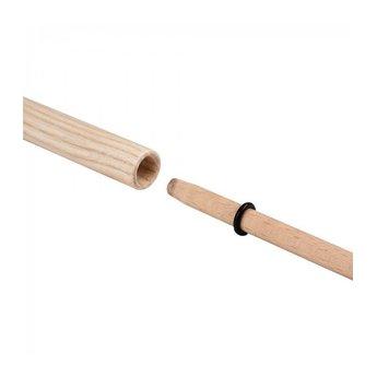 Henrys jongleerspeelgoed Henrys tweedelige houten stok voor jongleerbord