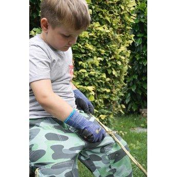 Kids at work kindergereedschap Veilig zakmes voor slijpen van stokken