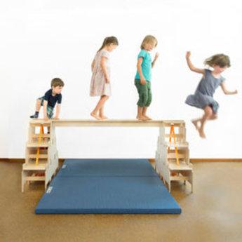 RobHoc flexibele schoolmeubels RobHoc gym mattenset 13 delig kinderopvang