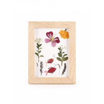 Kikkerland Lijst voor gedroogde bloemen