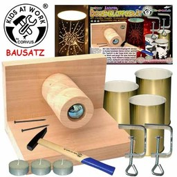 Kids at work kindergereedschap Kids at work Complete set DIY lantaarn