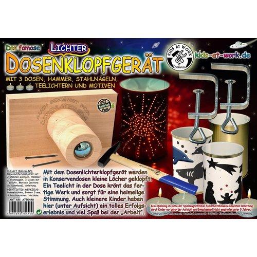 Kids at work kindergereedschap Complete DIY set voor lantaarn maken