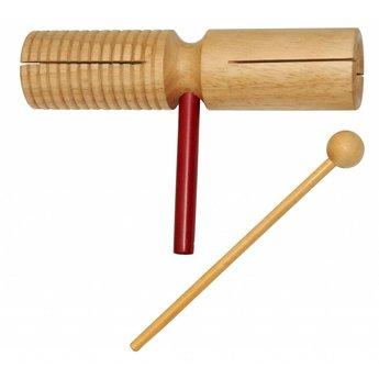 Rattlesnake muziekinstrumenten voor kinderen Agogo, houten percussie instrument