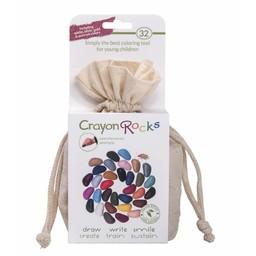 Crayon Rocks sojawaskrijtjes Crayon Rocks - 32 kleuren in een zakje
