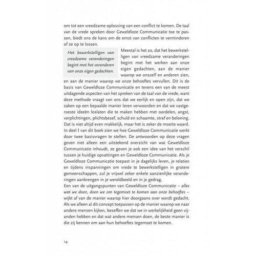 Uitgeverij Ank Hermes kinderboeken De taal van de vrede - Marshall Rosenberg