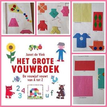 Kosmos Uitgevers kinderboeken Het grote vouwboek van de vouwjuf