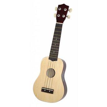 Voggenreiter kindermuziekinstrumenten Ukelele - mini gitaar van FSC hout