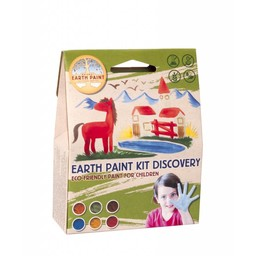 Natural Earth Paint natuurlijke kinderverf en kunstverf Kinderverf Natural Earth Paint Kit Discovery