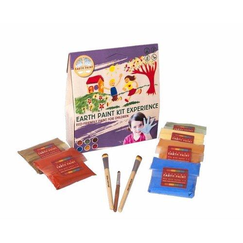 Natural Earth Paint natuurlijke kinderverf en kunstverf Natuurlijke gifvrije en Glutenvrije Kinderverf Kit Experience