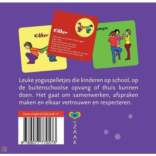 Uitgeverij Ank Hermes kinderboeken Yogaspelkaarten voor kinderen - Helen Purperhart