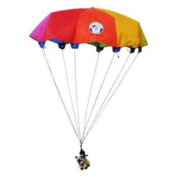 Kids at work kindergereedschap Speelgoed parachute van 85 centimeter