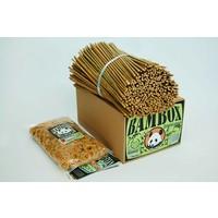 Bambox bamboestokjes bouwen met bamboe