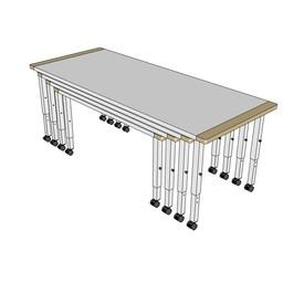 RobHoc flexibele schoolmeubels RobHoc tafels 1 + 2 + 3 + 4