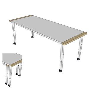 RobHoc flexibele schoolmeubels RobHoc tafels 1 + 2