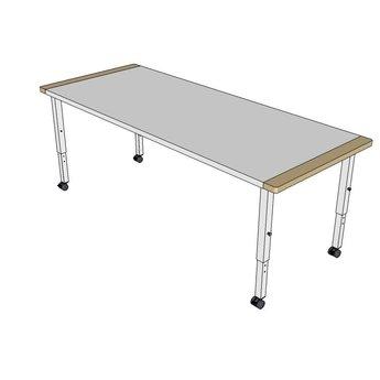 RobHoc flexibele schoolmeubels RobHoc tafel lengte 2 (140cm)
