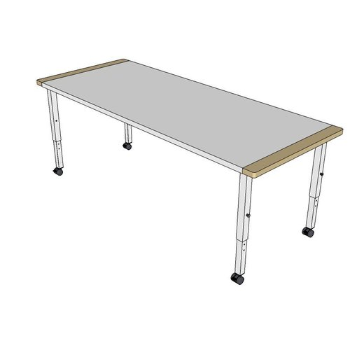 RobHoc flexibele schoolmeubels Robhoc tafel 3 - 120cm
