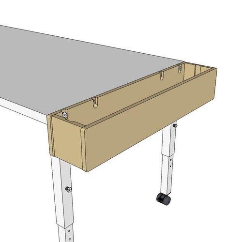 RobHoc flexibele schoolmeubels Tafel lengte 4 - 100cm