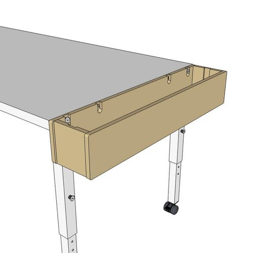 RobHoc flexibele schoolmeubels Tafelset lengte 1 + 2 + 3 + 4 - 160, 140, 120 en 100 cm