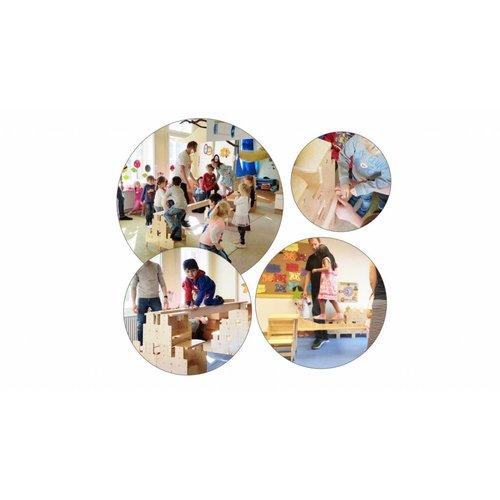 RobHoc flexibele schoolmeubels Starterset 1 set per locatie