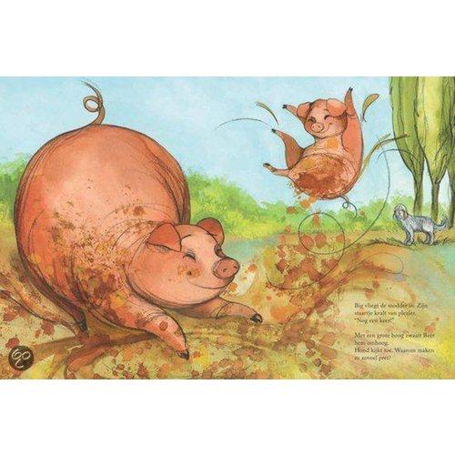 De Vier Windstreken kinderboeken Mols hoop, een boek over rouwverwerking bij kleuters