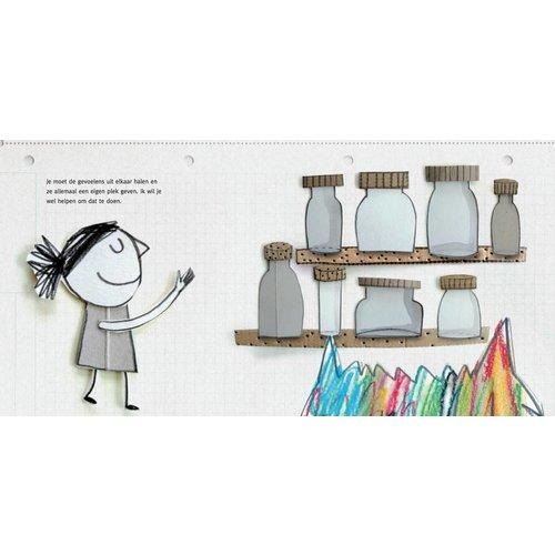 De Vier Windstreken kinderboeken Het kleurenmonster - voorleesboek emoties