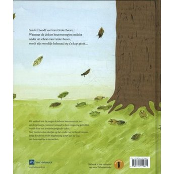 Talismanneke rouwverwerking Grote boom is ziek- Nathalie Slosse