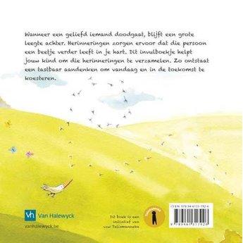 Talismanneke rouwverwerking Vaarwel- Mijn boekje vol herinneringen