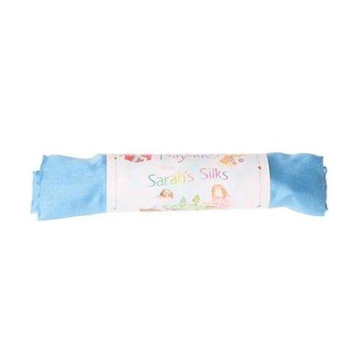 Sarah's Silk speelzijde Sarah's Silks hemelsblauwe zijde