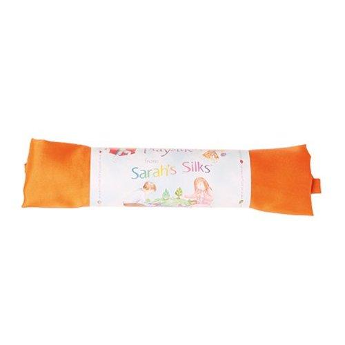 Sarah's Silk speelzijde Sarah's Silks oranje zijden doek