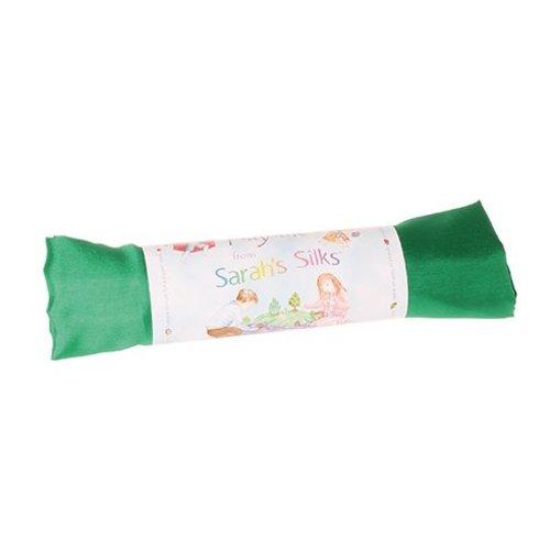 Sarah's Silk speelzijde Sarah's Silks smaragdgroene zijde