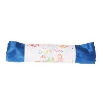 Sarah's Silk speelzijde Sarah's Silks koningsblauwe zijde