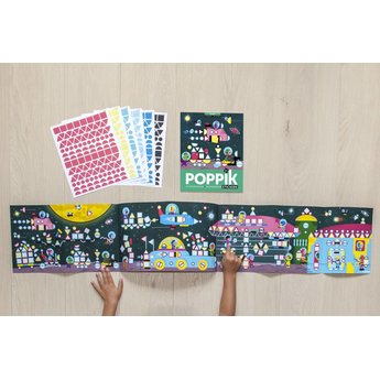Poppik stickerkunst My sticker mosaic - COSMIC - HEELAL