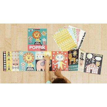 Poppik stickerkunst My sticker mosaic - CIRCUS
