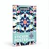 Poppik stickerkunst Maak je eigen sticker poster - Mandala