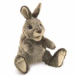 Folkmanis handpoppen en poppenkastpoppen Handpop konijn