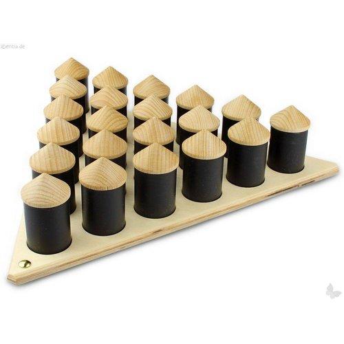 Karl-Schubert-Gemeinschaft - houten spellen Luisterwonder navulling - 10 ongevulde torens