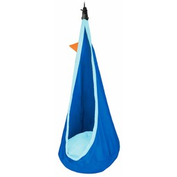 La Siesta hangmatten Joki Dolphy blauw - Kinderhangnest