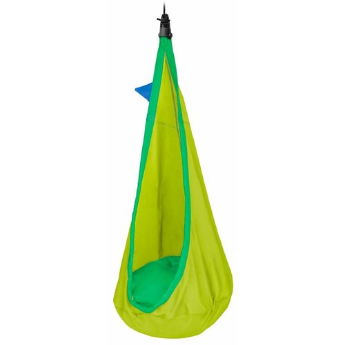 La Siesta hangmatten Joki Froggy - Kinderhangnest biologisch katoen - groen