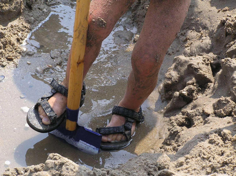 Spelen met zand, zo gewoon en zo bijzonder!