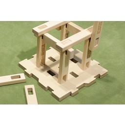 Spinifex Cluster constructiespeelgoed Spinifex grondplaat puzzel 3 stuks